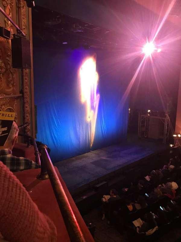 Longacre Theatre, section: Box, row: D, seat: 3