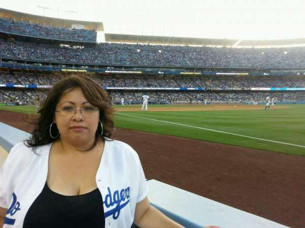 Dodger Stadium, section: 38BL, row: 1, seat: 1