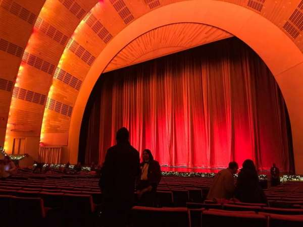 Radio City Music Hall, section: Orchestra 2, row: WW, seat: 211