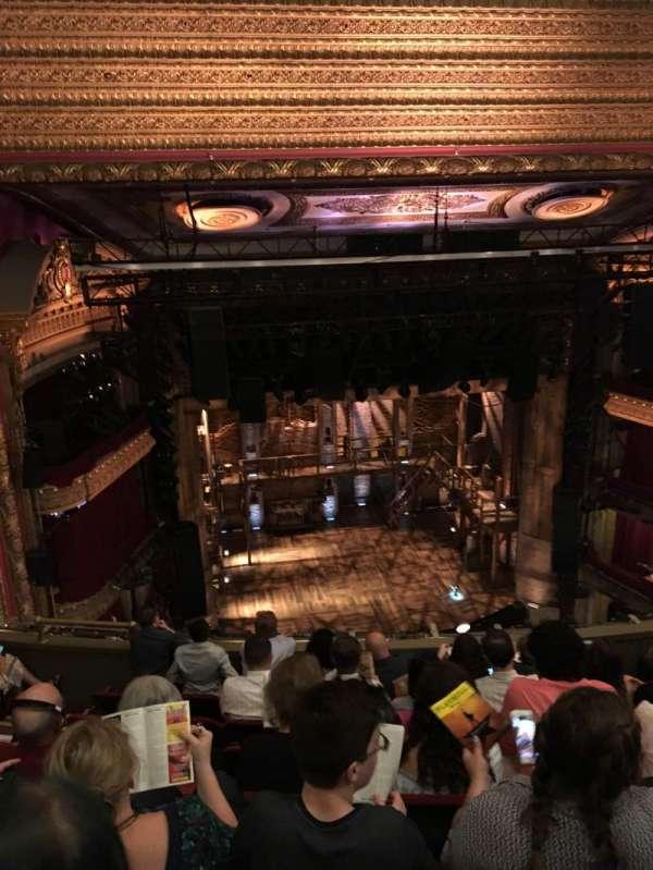 CIBC Theatre, section: Balcony LC, row: G, seat: 417