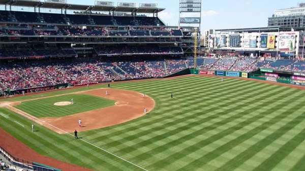 Nationals Park, section: 230, row: A, seat: 25
