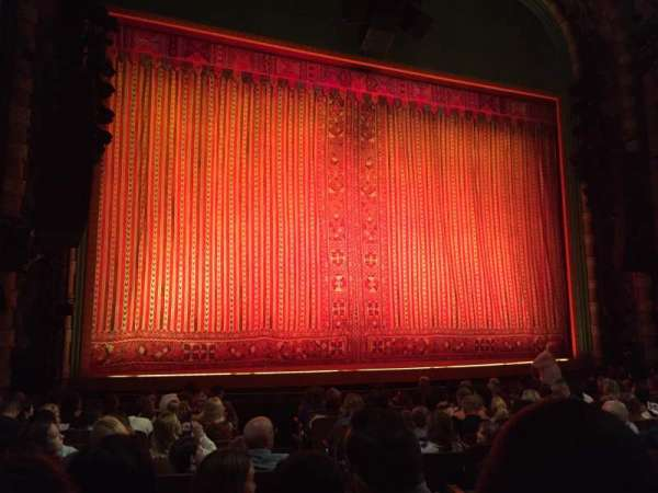 New Amsterdam Theatre, section: Orchestra L, row: M, seat: 7
