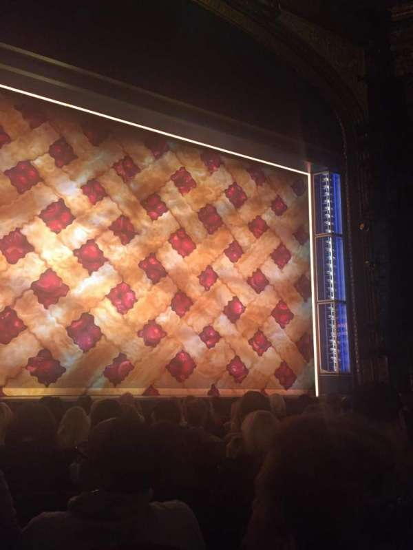 Brooks Atkinson Theatre, section: Orchestra C, row: G, seat: 103