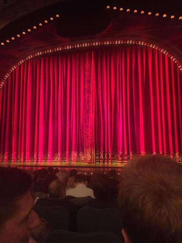 Shubert Theatre, section: Orchestra, row: L, seat: 101