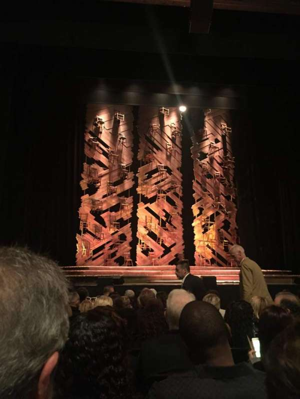 Orpheum Theatre (San Francisco), section: Orchestra LC, row: H, seat: 105