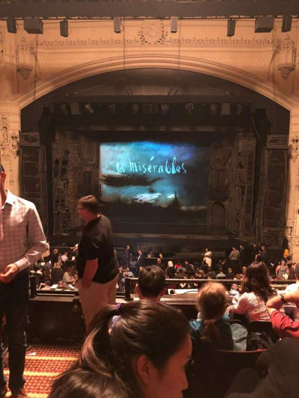 Orpheum Theatre (San Francisco), section: Mezzanine RC, row: E, seat: 102
