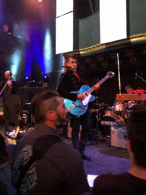 Great American Music Hall, section: GA, row: Floor