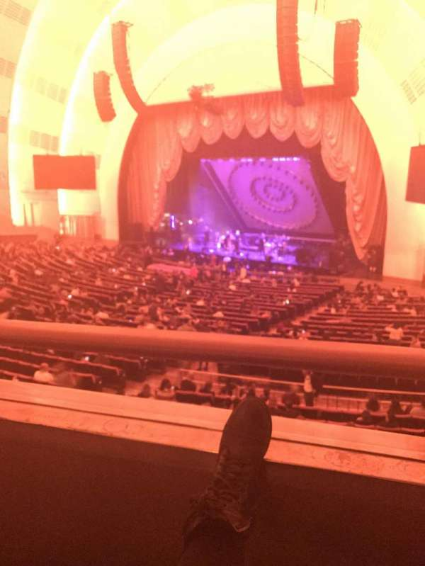 Radio City Music Hall, section: 1st Mezzanine 1, row: BB, seat: 107