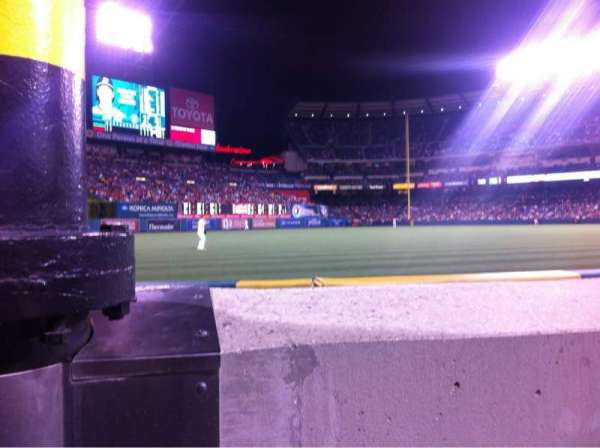Angel Stadium, section: F103, row: A, seat: 9