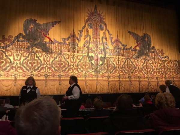 The Fabulous Fox Theatre (St. Louis), section: Orchestra 3, row: D, seat: 113