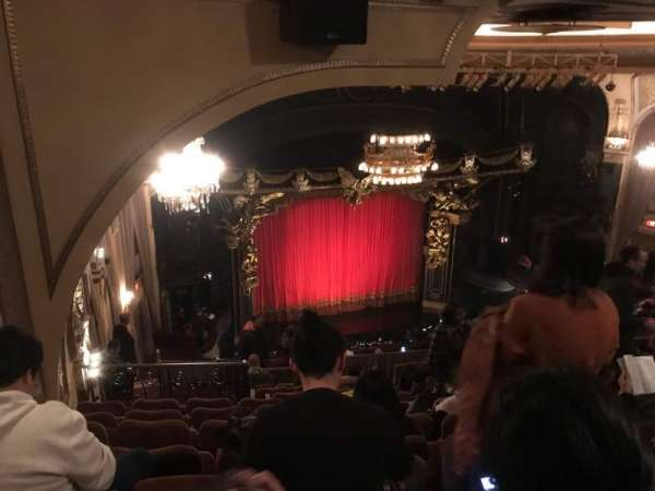 Majestic Theatre, section: Rear Mezzanine L, row: K, seat: 11