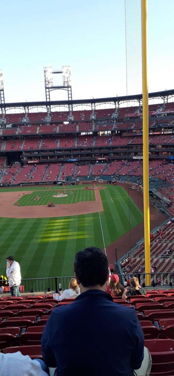 Busch Stadium, section: 271, row: 11, seat: 9