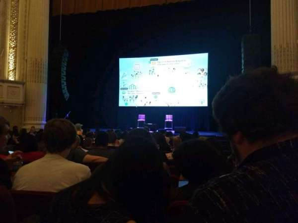 Shubert Theatre (Boston), section: Orch Center, row: I, seat: 113