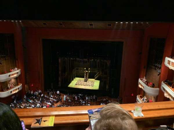 Au-Rene Theatre at the Broward Center, section: Balcony RC, row: B, seat: 122