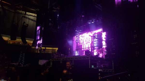 BOK Center, section: 111, row: B, seat: 1
