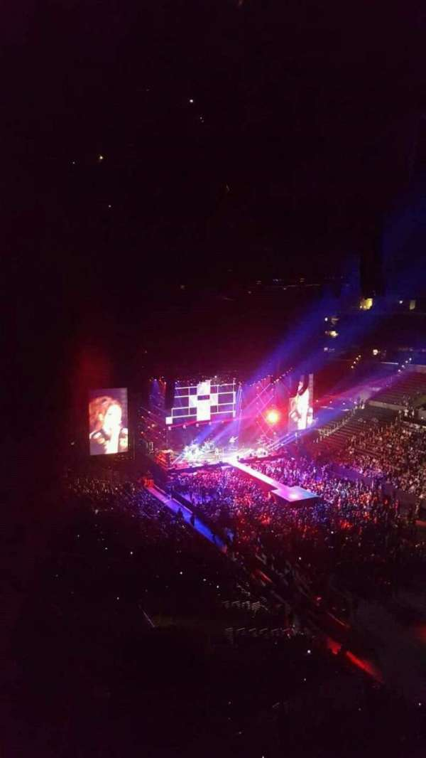 Staples Center, section: 314, row: 2, seat: 1
