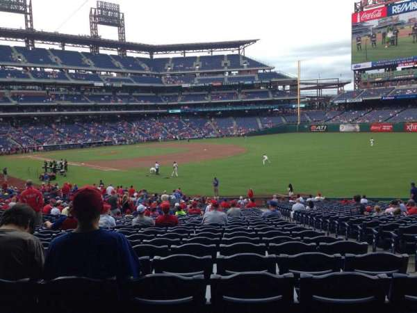 Citizens Bank Park, section: 110, row: 35, seat: 3