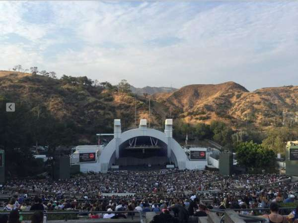 Hollywood Bowl, section: T1