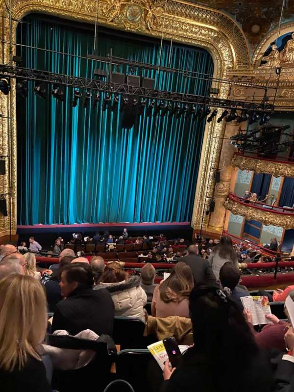 Emerson Colonial Theatre, section: Dress Circle LC, row: G, seat: 117