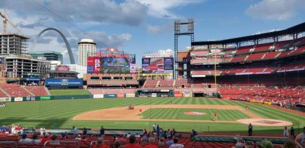Busch Stadium, section: 155, row: 24, seat: 4