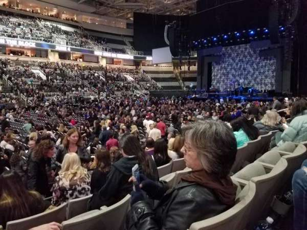 SAP Center at San Jose, section: 102, row: 8, seat: 24