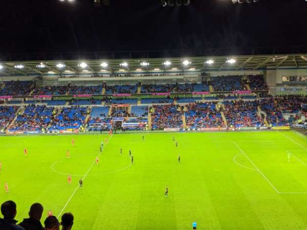 Cardiff City Stadium, section: 513, row: N, seat: 72