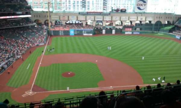Minute Maid Park, section: 424, row: 4, seat: 6