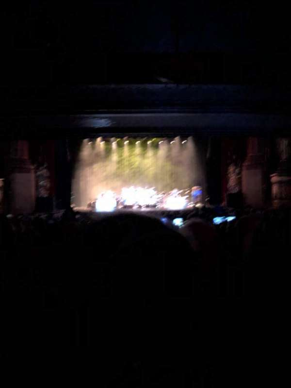 Beacon Theatre, section: Orchestra, row: Y, seat: 106
