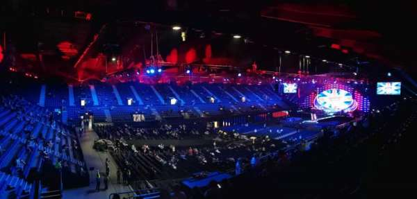 SSE Arena, Wembley, section: N15, row: U, seat: 183