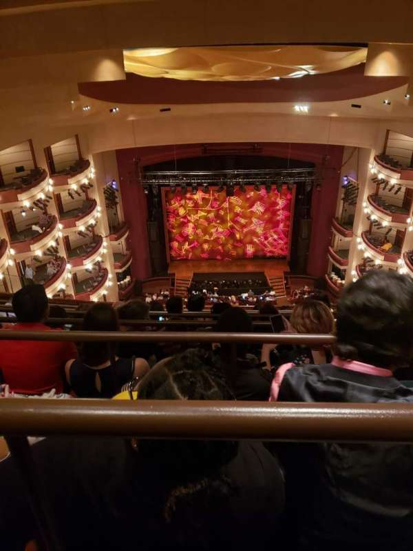 Ziff Ballet Opera House at the Arsht Center, section: Tier 4, row: G, seat: 106