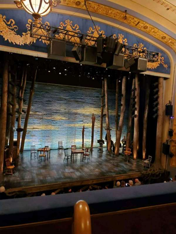 Gerald Schoenfeld Theatre, section: Mezzo, row: B, seat: 1