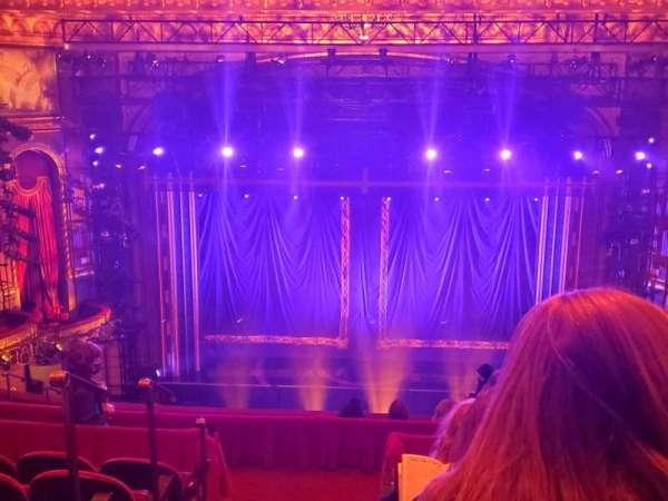 Brooks Atkinson Theatre, section: Rear Mezzanine RC, row: K, seat: 114
