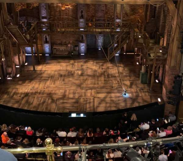 Victoria Palace Theatre, section: Grand Circle, row: C, seat: 19