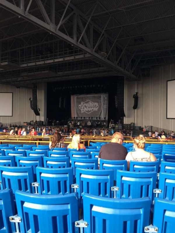 PNC Music Pavilion, section: 5, row: Q, seat: 21