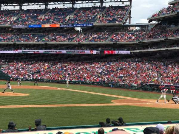 Citizens Bank Park, section: 131, row: 10, seat: 3