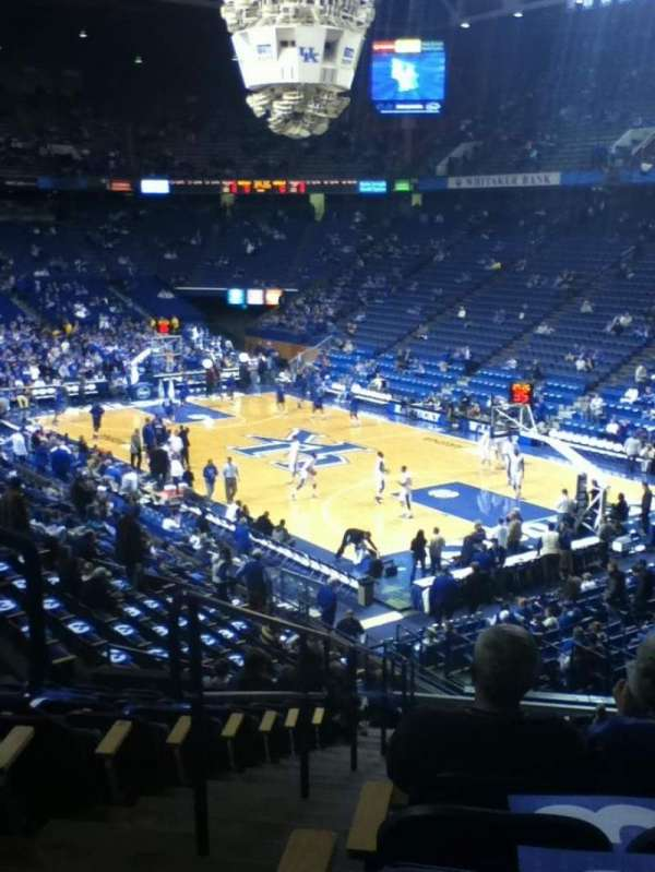 Rupp Arena, section: 26, row: W, seat: 13-14