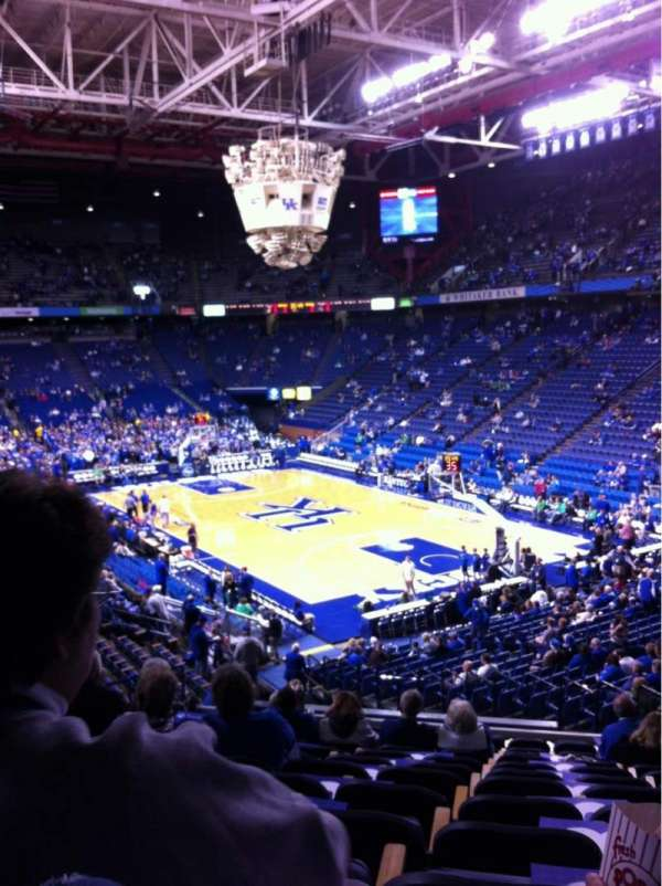 Rupp Arena, section: 26, row: V, seat: 7-8