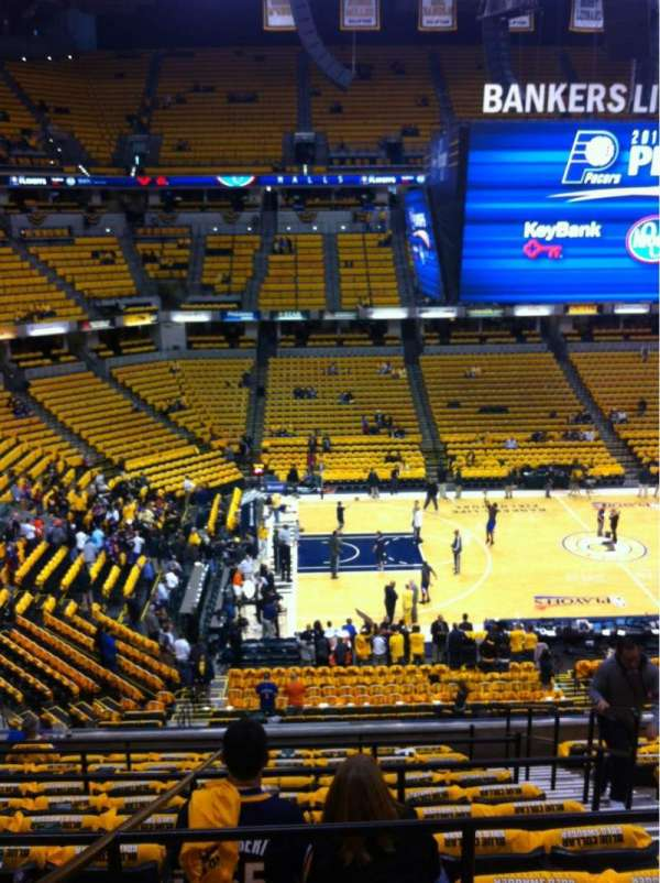 Bankers Life Fieldhouse, section: 105, row: 11, seat: 12