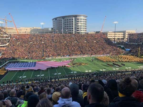 Kinnick Stadium, section: 128, row: 70, seat: 19