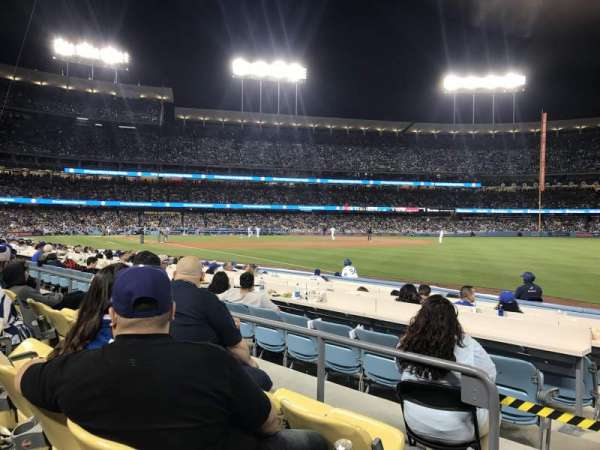 Dodger Stadium, section: 44FD, row: C, seat: 1