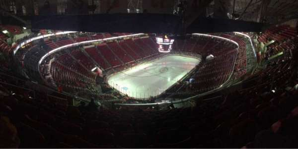 PNC Arena, section: 310, row: N