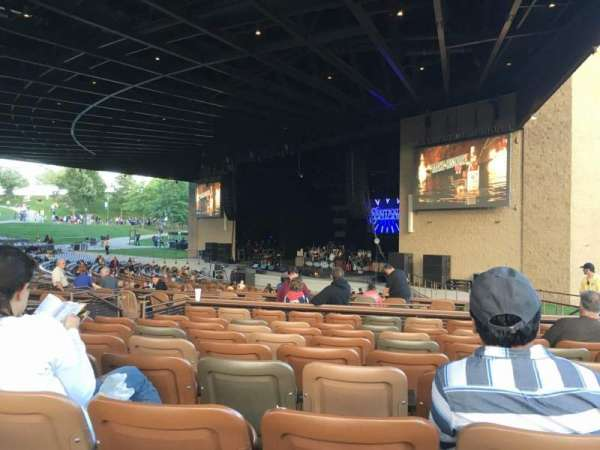 Bethel Woods Center for the Arts, section: 10, row: J