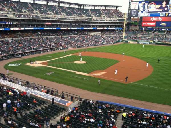 Comerica Park, section: 218, row: A, seat: 13