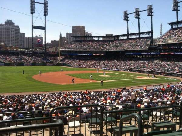 Comerica Park, section: 137B, row: C, seat: 1