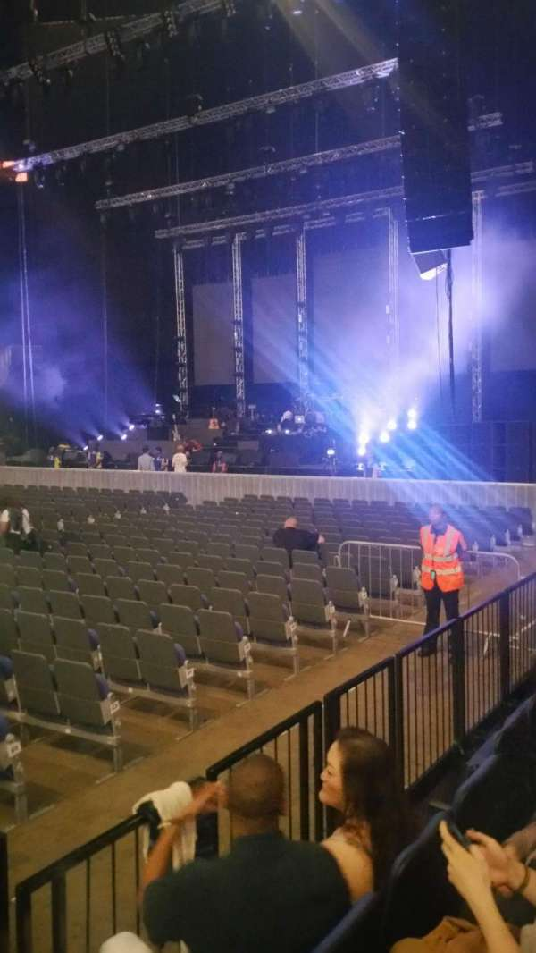 The O2 Arena, section: 111, row: C, seat: 359