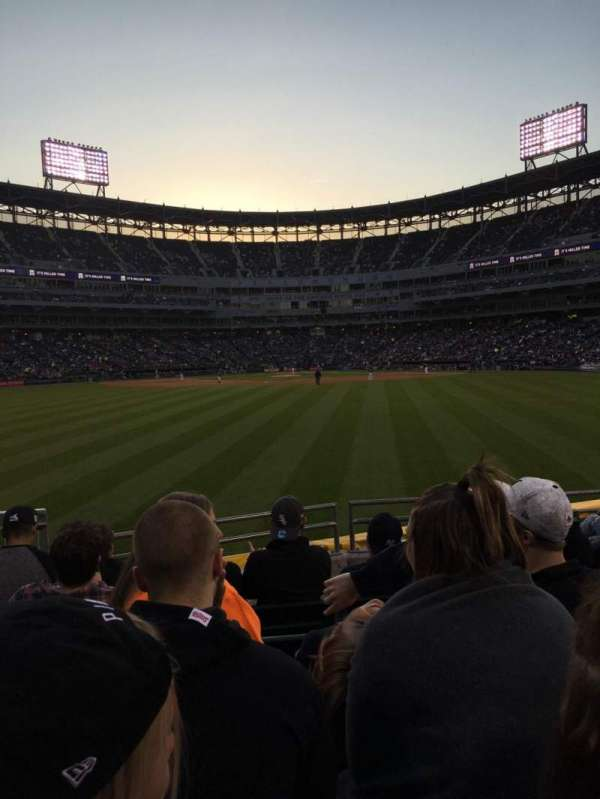 Guaranteed Rate Field, section: 164, row: 7, seat: 9