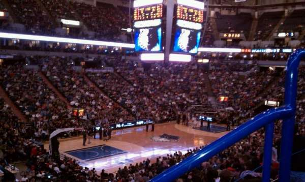 Target Center, section: 116, row: x, seat: 2