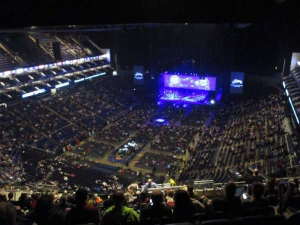 The O2 Arena, section: 414, row: S, seat: 775