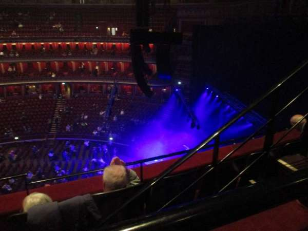 Royal Albert Hall, section: Rausing Circle, row: Y-3, seat: 179