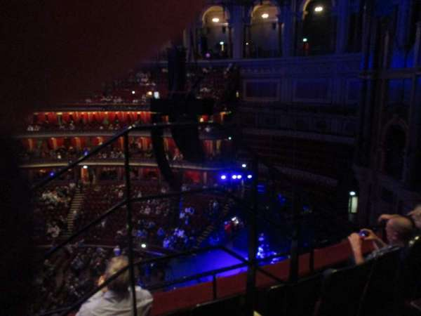 Royal Albert Hall, section: Rausing Circle Y, row: 3, seat: 179
